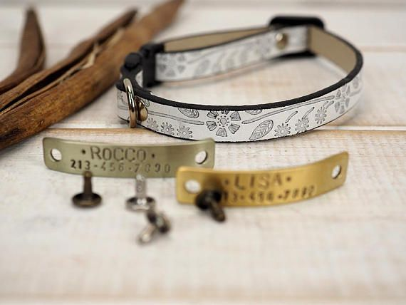 Cat Collar Small Dog Collar Breakaway Cat Collar