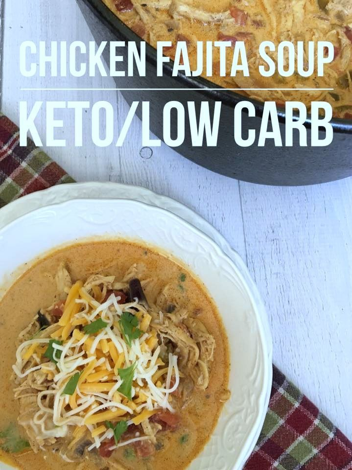 """TweetEmail TweetEmail Share the post """"Low Carb Chicken Fajita Soup {Keto Friendly}"""" FacebookPinterestTwitterEmail I love experimenting with new low carb/keto recipes. Especially when they are easy and my entire family enjoys the finished product. Since I'm a very busy mom of 4, I am always looking for ways to change up a recipe I currentlycontinue reading..."""
