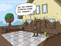 Wenn Männer putzen!   www.schoenescheisse.de