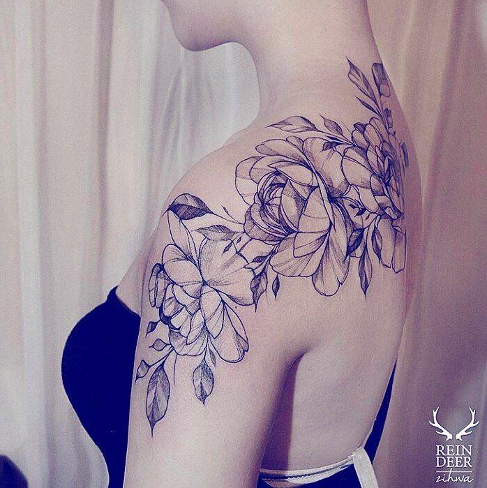 Tatouage florale