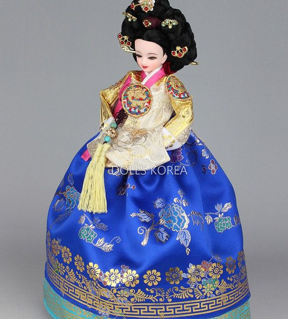 11 Authentic Korean Art Doll Jang Hee Bin by IDSTAR2012 on Etsy