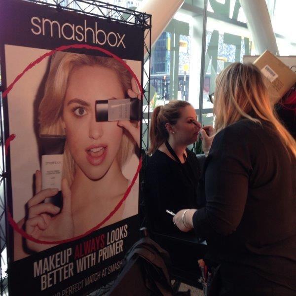 Smashbox @ The Beauty Hub 2014 #nzfw #BeautyHub