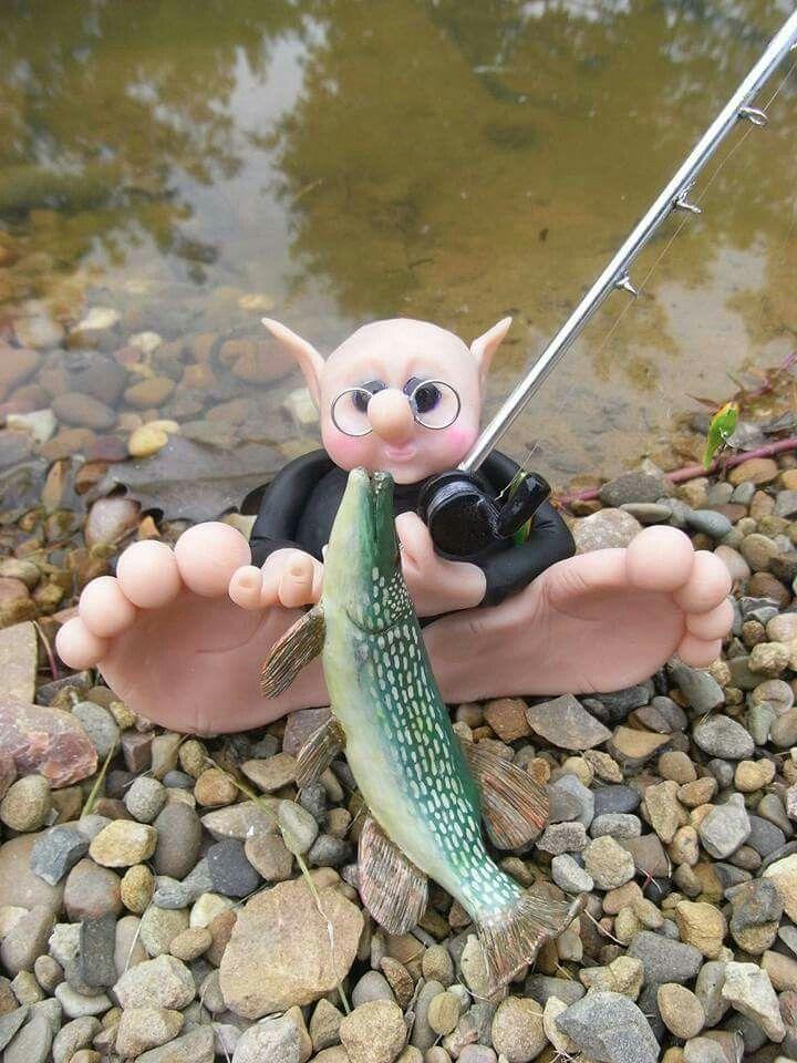 Fishing gnomie