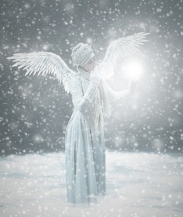 Картинки снежный ангел