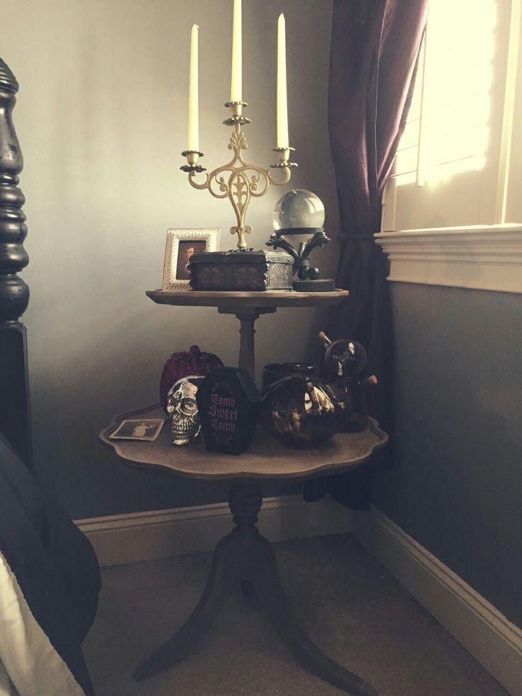 Haunted Mansion bedroom
