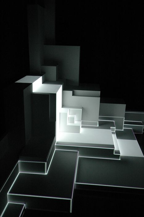 Pablo Valbuena: En Sculpturen, White Houses, Creative Spaces, Sculpture Series, Contemporary Art, Art Reference, Valbuena Augmented, Pablo Valbuena, Augmented Sculpture