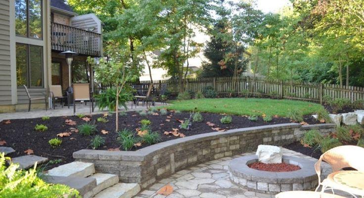 Sloped Back Yard Landscaping Ideas