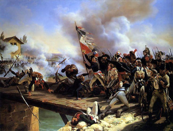 La bataille du pont d'Arcole s'est déroulée du 15 au 17 novembre 1796 (25 au 27 brumaire an V) lors de la première campagne d'Italie. Elle opposa les 19 000 Français de l'armée d'Italie, sous les ordres de Napoléon Bonaparte, aux 24 000 hommes de l'armée autrichienne, commandée par le général Josef Alvinczy.