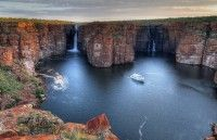 Cruising The Kimberley, Beautiful King George Falls More information here: http://thekimberleycollection.com.au/kimberley-cruising/cruising-information
