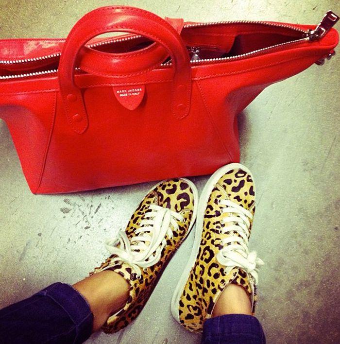 #Converse #Leo #Taschen #Rot #Damenschuhe
