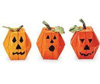 Egg Carton Min Pumpkins Kids Halloween Craft
