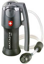 This is my preference fpr water filtering. Lot of other good ones out there like msr. Msr is lighter and uses much of the same technology. But what set katadyn apart for me is its durability. Katadyn Vario Water Filter