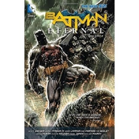 BATMAN Eternal Volume 1 Paperback A new weekly Batman series that examines the relationship between the heroes villains and citizens of Gotham City! In the wake of Forever Evil the world looks at heroes in a different light creating t http://www.MightGet.com/january-2017-13/batman-eternal-volume-1-paperback.asp