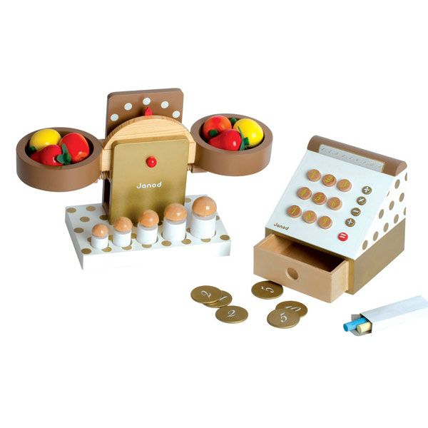 Деревянные игрушки от Janod. Сделано со вкусом