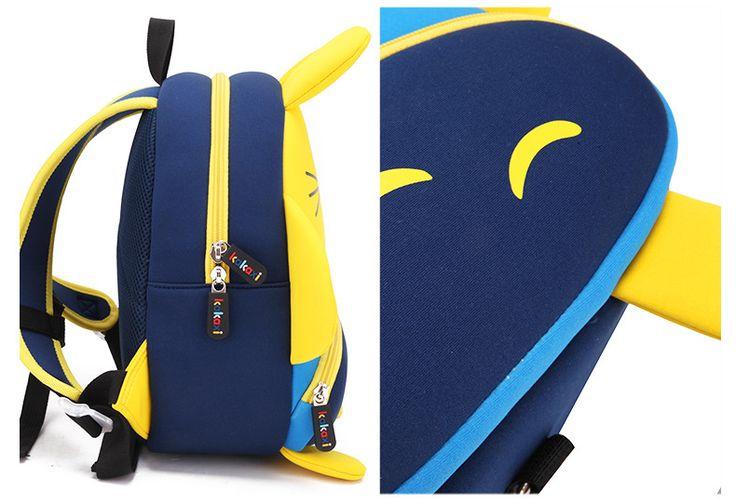 cute cartoon Neoprene other Children bag (yellow)NHKX0012-yellow