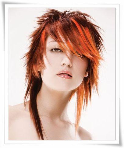 16 Best Combination Hair Cut Images On Pinterest Hair