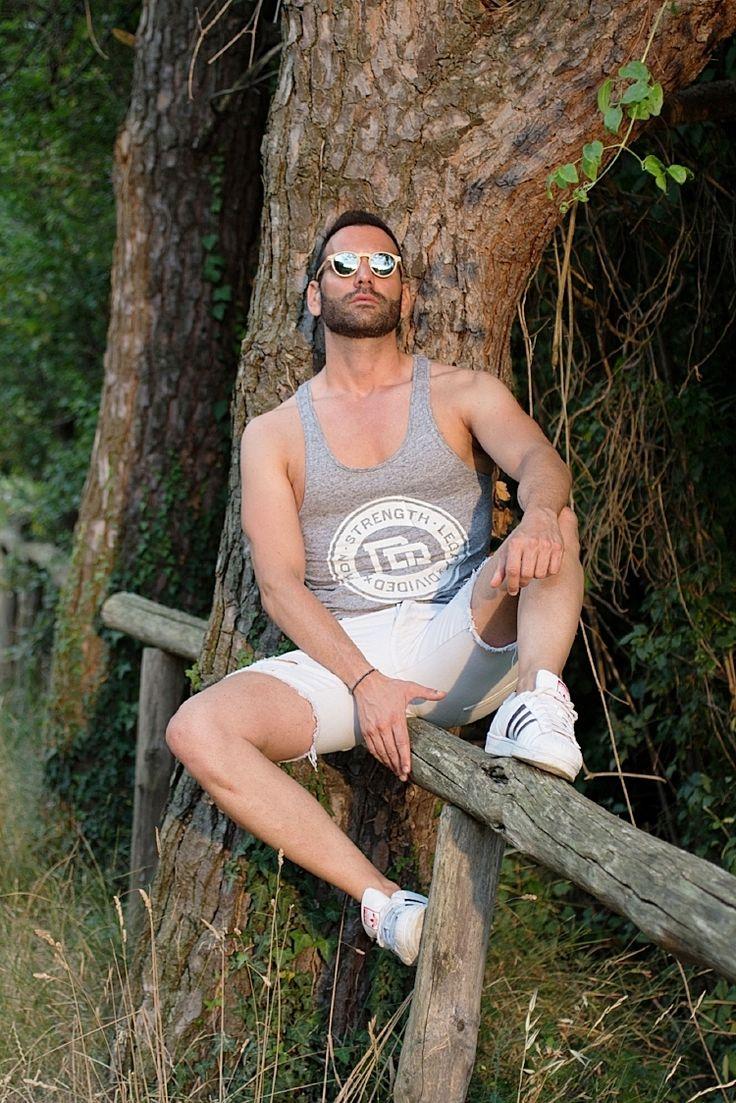 Stefano Zulian yewear D.franklin tank summer style for man