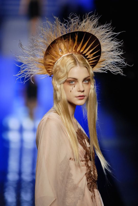 Jessica Stam at Jean Paul Gaultier HC S/S 2007