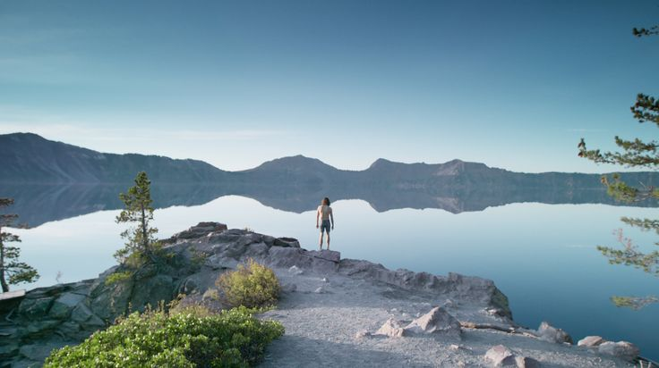 Small advertising videos - Crater Lake is a volcanic lake, but not a lake of lava as you might be imagining. It's just a regular, clear, beautiful water that happens to fill an enormou...