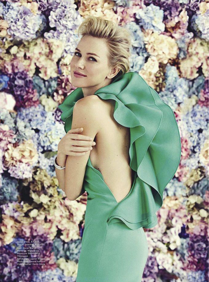 Наоми Уоттс для Vogue Australia  Фотограф Уилл Дэвидсон (Will Davidson).