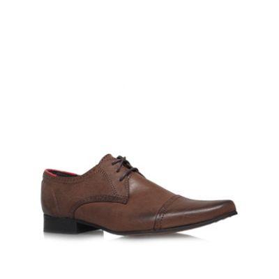 KG Kurt Geiger Brown 'Grayes' Flat Formal Shoes- | Debenhams