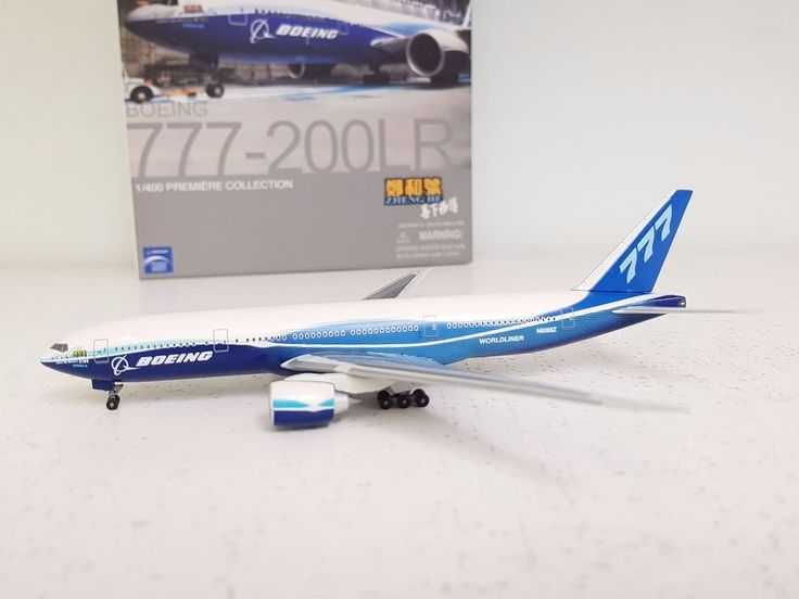 """DRAGON WINGS 1:400 Boeing 777-200LR 2004 Boeing Livery """"Zheng He"""" (Limited)  #d"""