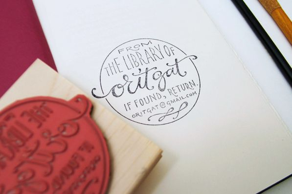 || by Plurabelle.: Plurabell Calligraphy, Home Libraries, Beautiful Hands, Hands Letters, Ex Libri, Book, Personalized Libraries, Exlibris, Custom Stamps