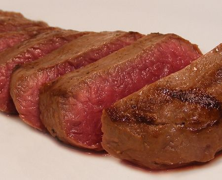 Reindeer meat!