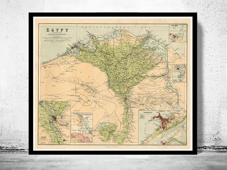 The 328 best old country maps images on pinterest antique maps old map of egypt and main cities 1889 gumiabroncs Choice Image