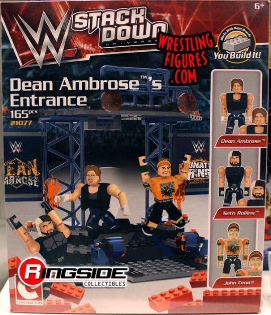 WWE stack down Dean Ambrose's entrance