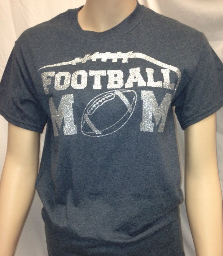FOOTBALL MOM SHIRT by ROOKIESFANWEAR on Etsy, $24.95
