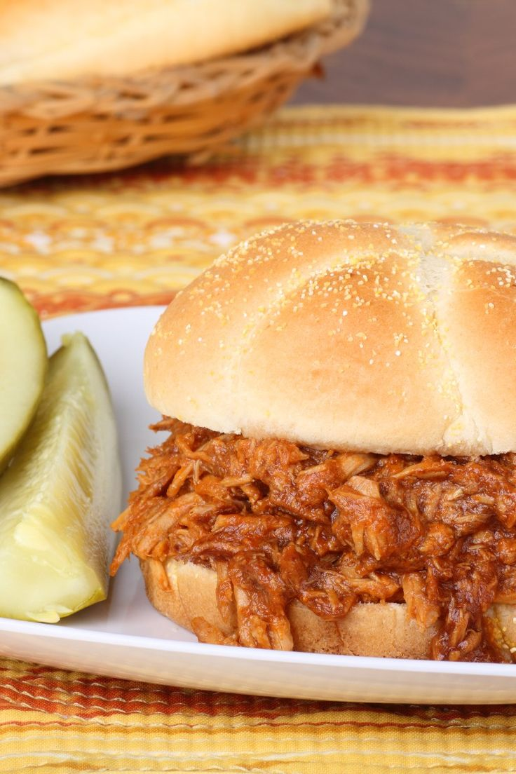 Slow Cooker Hawaiian Pulled Pork Sandwiches Recipe with Pineapple Sauce