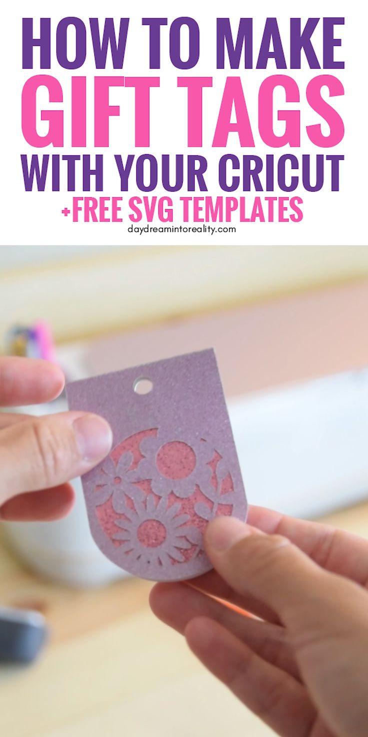 So erstellen Sie Geschenkanhänger mit Ihren Cricut + Free SVG-Vorlagen Hi Daydreamers! Heute lernen Sie, wie Sie das schönste Geschenk machen