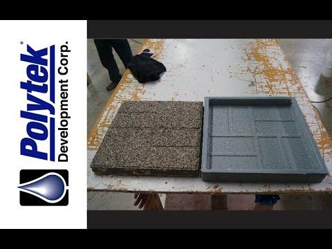 How to Make a Rubber Mold to Cast Concrete Pavers/Stepping Stones   https://www.youtube.com/watch?v=2ctNaoUrfYM