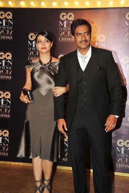 Bollywood, Tollywood & Más: Kajol & Ajay Devgan at GQ Men of the Year 2012