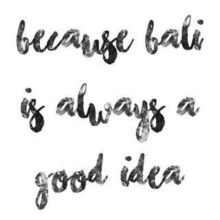 Because... Bali... #adventure #bali #baliexpat #becausebali #exploring #indonesia #instagram #travel #travelquote #quote