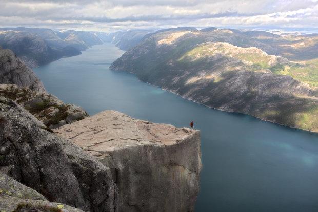 Fiordy Norweskie z Preikestolen, Norwegia