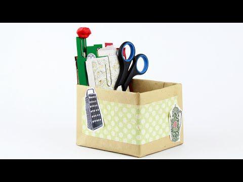Как сделать коробку для заметок своими руками? С помощью этого видео-урока вы изготовите оригинальную коробку для заметок и карточки для фильтра заметок! #коробкадлязаметок #скрапбукинг #поделкиизбумаги