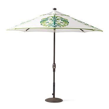 st martin flourish designer umbrella - Designer Patio Umbrellas