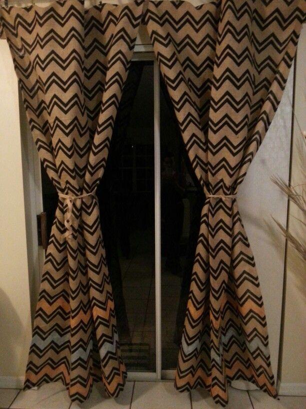 Hobby Lobby Chevron Wall Decor : Chevron burlap diy curtains thanks hobby lobby