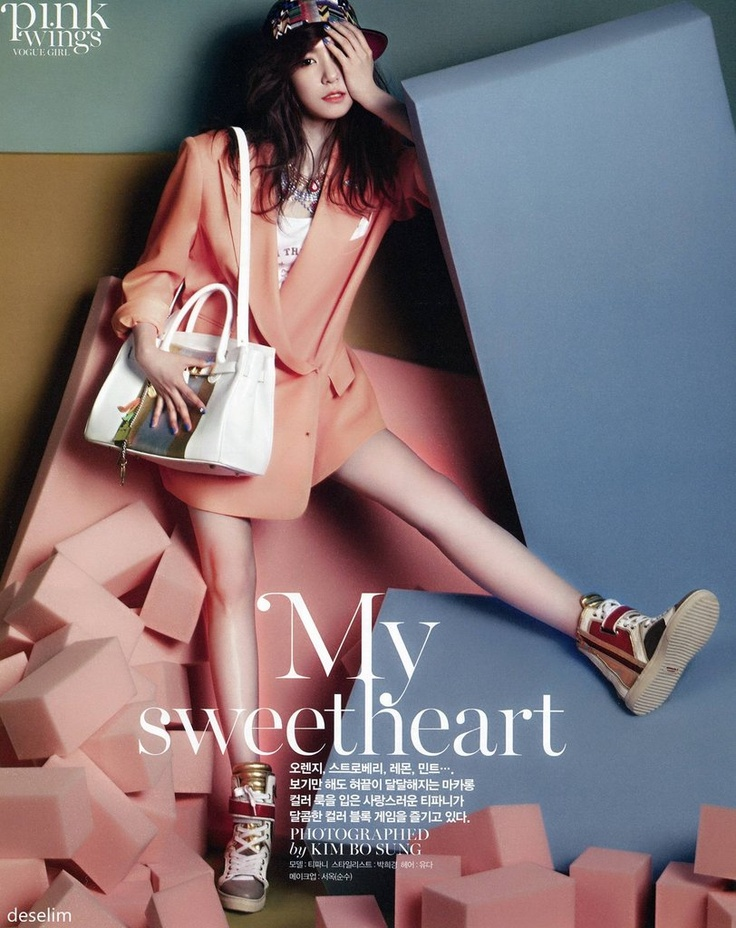 SNSD's Tiffany for Vogue (Scans by deselim) - Imgur