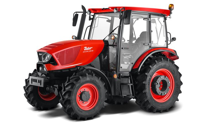 Zetor Major jeprvní sériový model traktoru sdesignem odPininfarina