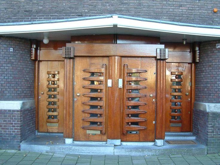 Co Franswa, Joan van der Meij, Gerrit van der Veenstraat 131-41, 163-77, Amsterdam Oud-Zuid