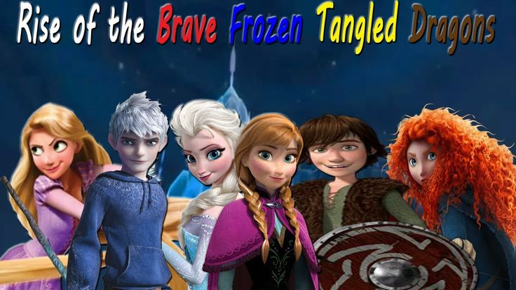 17 Best images about Rise of the Brave Tangled Frozen ... Frozen Tangled Brave