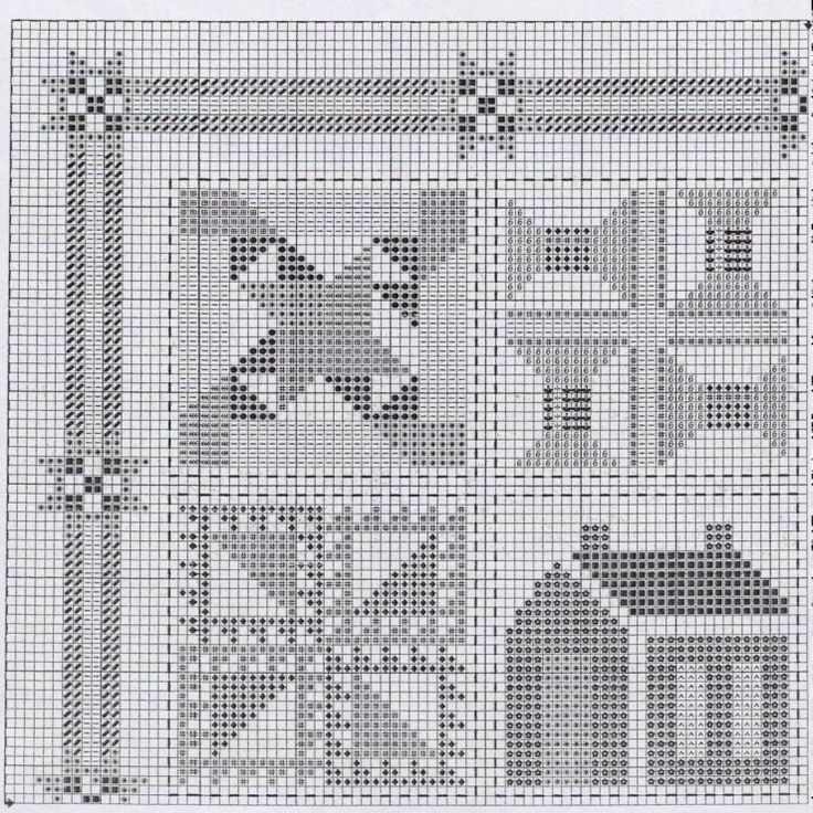 Quilt Patterns Cross Stitch : 989 best images about Cross Stitch on Pinterest
