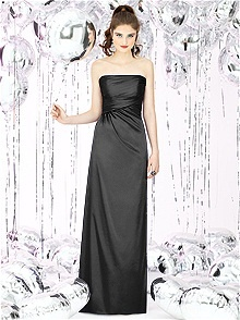 Social Bridesmaids Style 8122#black #bridesmaid #dress