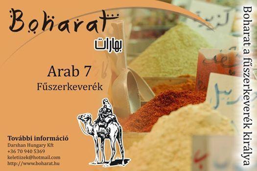 Arab 7 fűszerkeverék