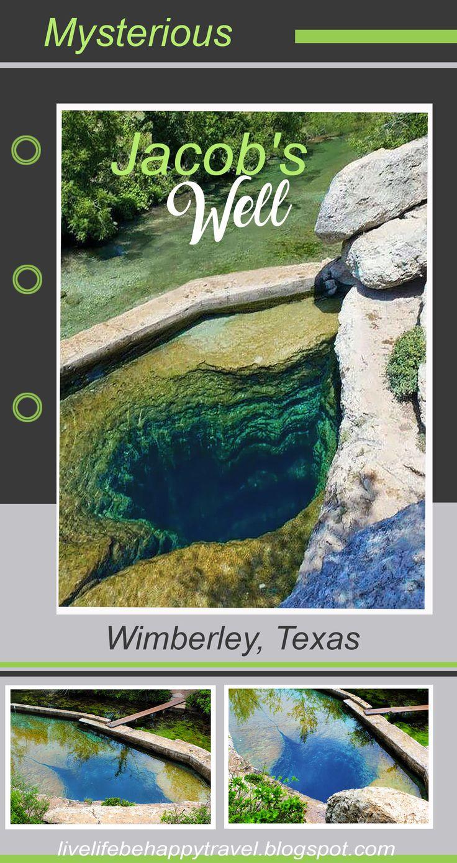 Jacob's Well - Wimberley, Texas - Swimming  - Hiking - Near Austin Texas