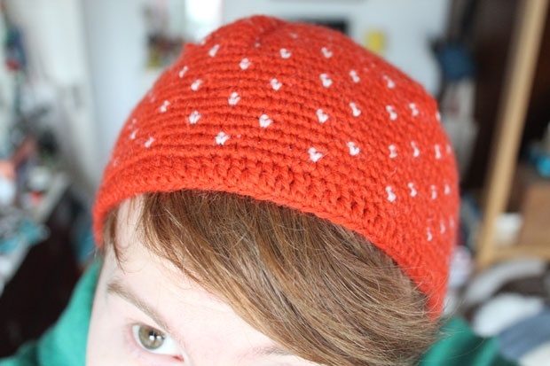 Strawberry Hat - Crochet.