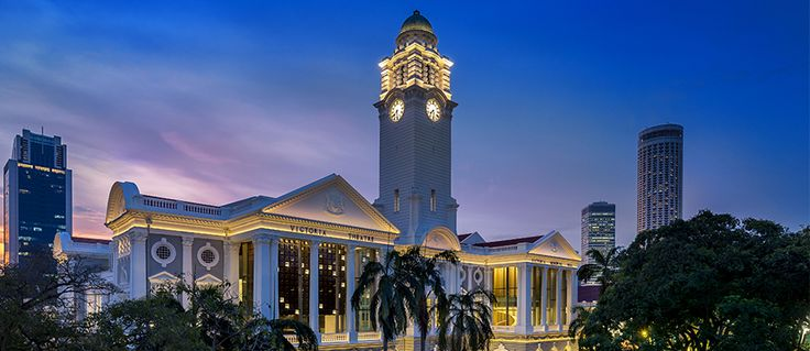 Victoria Theatre & Victoria Concert Hall. #Singapore